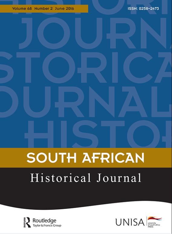 South African Historical Journal Cover Page